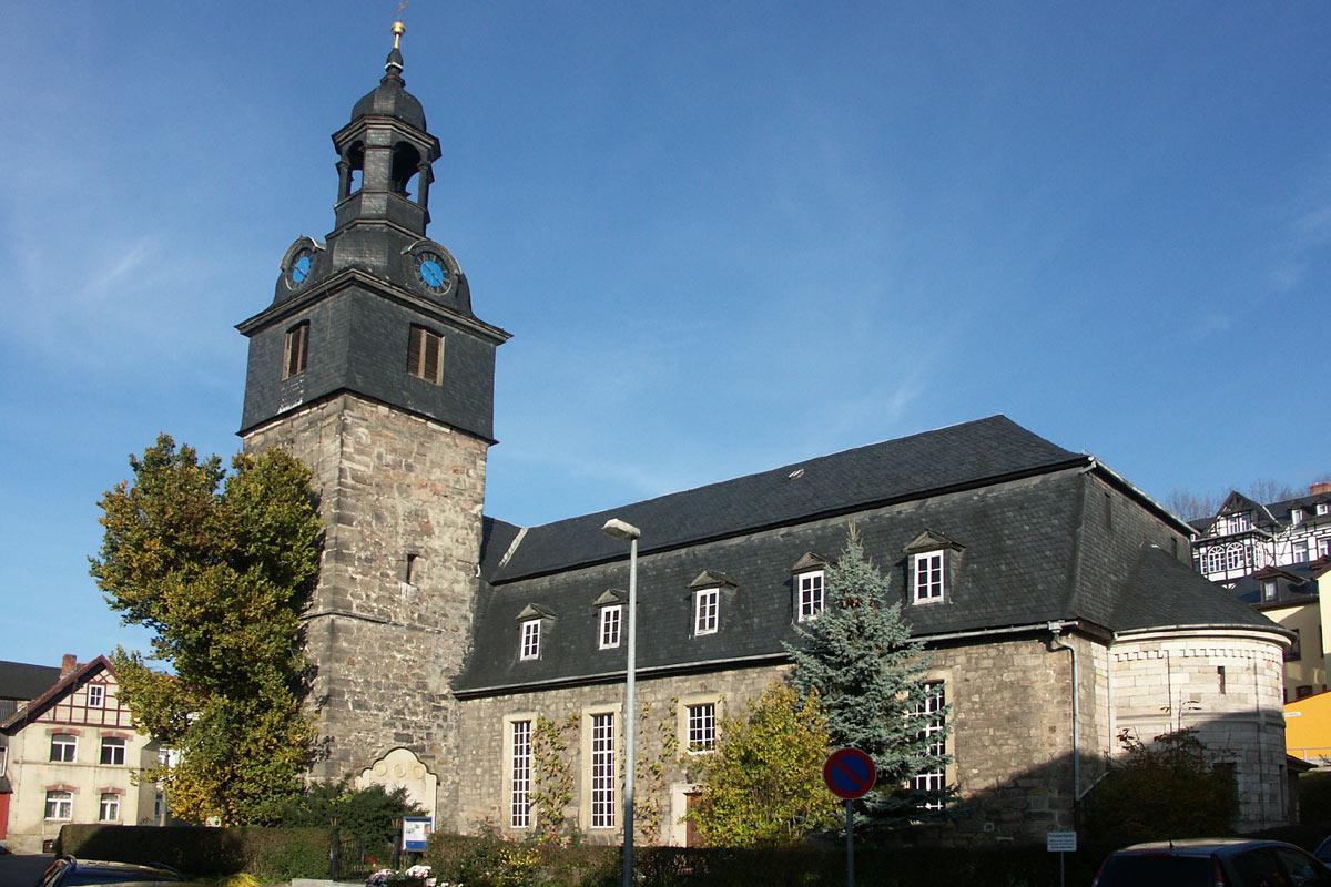 Kirchen - Kultur · Freizeit · Sport - Stadt Bad Blankenburg